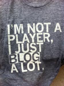 blog a lot